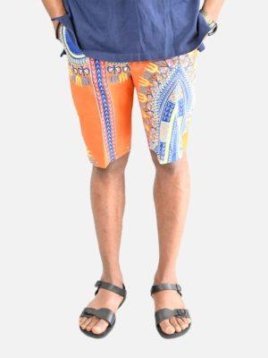 lemani-african-print-shorts